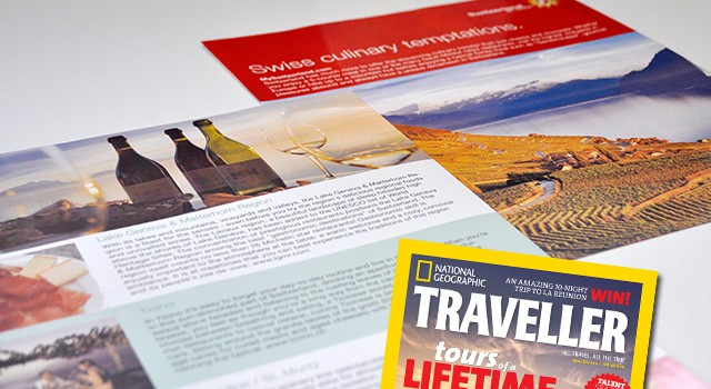 Inserts in National Geographic Traveller